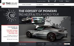 Un tour du monde en Roadster Tesla TAG Heuer électrique !