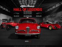 "Alfa Romeo France ouvre son ""Hall of Legends"""