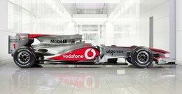 F1 : la McLaren MP4-25 reste une flèche d'argent !