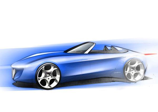 Genève 2010 : esquisse de future Alfa Romeo par Pininfarina