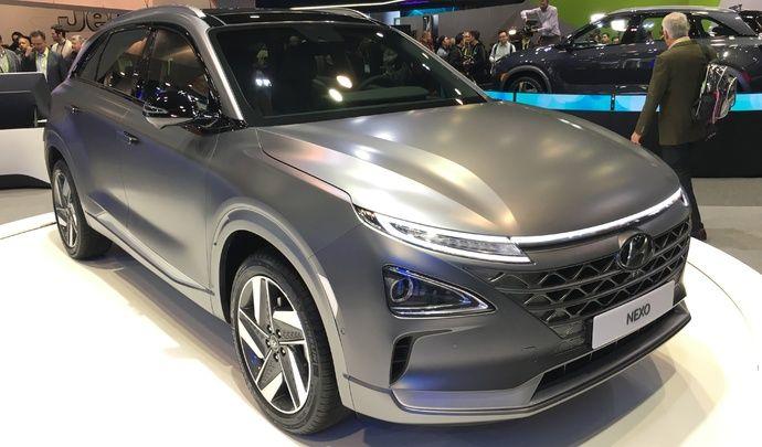 Hyundai Nexo : le nouveau grand SUV coréen - Vidéo en direct du CES Las Vegas 2018
