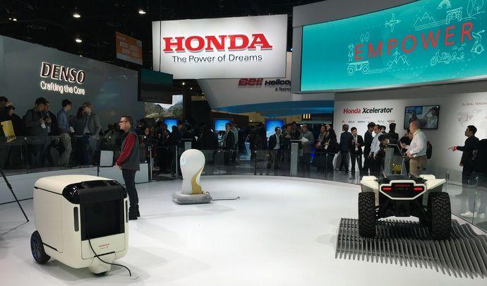 Honda : des robots pour tous les usages - Vidéo en direct du CES Las Vegas 2018