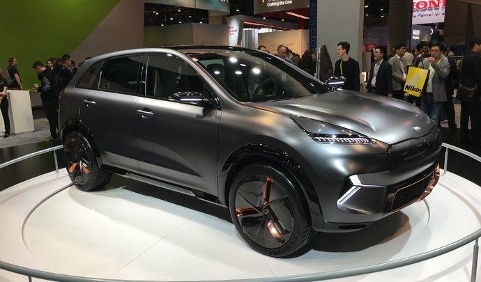 Kia Niro EV : la future référence du SUV électrique ? - Vidéo en direct du CES Las Vegas 2018