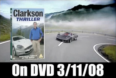 "Jeremy Clarkson : nouveau DVD ""Thriller"""