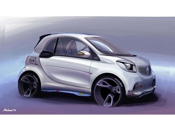 Smart ForTwo cabriolet : elle arrive en 2015