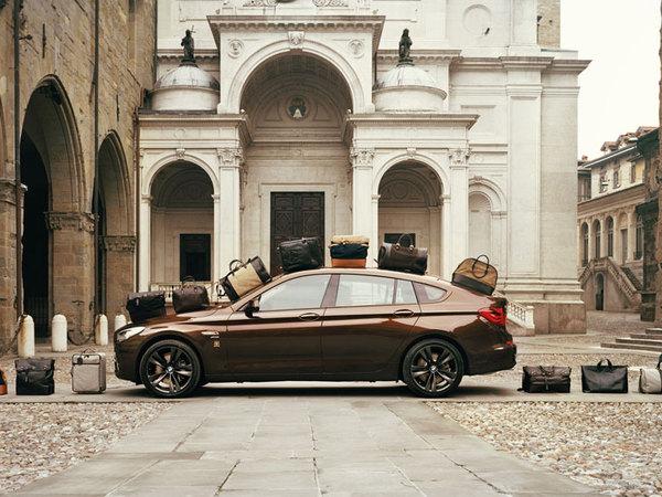BMW Serie 5GT par Trussardi : pour assortir sa voiture à ses bagages