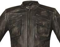 Held Lennox: cuir au look vintage.