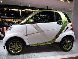 La Smart Fortwo Electric Drive exposée aux Salons Ever Monaco et Planète Durable 2010