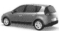 Futur Renault Scénic 3: ses formes définitives