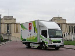 Véhicule électrique pour transport de marchandises : Renault Trucks et EDF partenaires