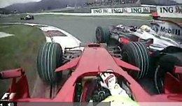Vidéo F1 : faites vous votre idée sur les pénalités du GP du Japon
