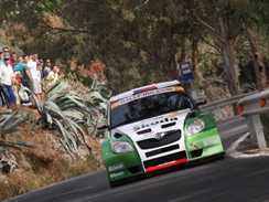 IRC-Canaries, SS10: Skoda en force !