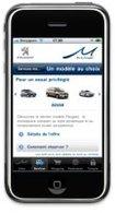 Offre Mu by Peugeot : une application iPhone vous est proposée