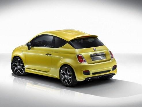 La Fiat 500 Coupé Zagato bonne pour la série