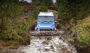 Mercedes traverse une partie du Royaume-Uni sans utiliser une seule route