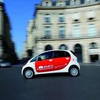 La Mitsubishi i-MiEV électrique commercialisée au Royaume-Uni