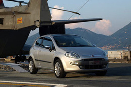 Salon Planète Durable 2010 : la nouvelle Fiat Punto Evo MultiAir