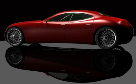 Design : VanAsperen 202.61, 850 kg, 200 ch, 4 places ... virtuosité virtuelle