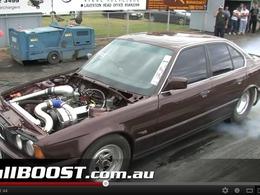 BMW Série 5 dragster : un cœur américain pour l'Allemande