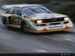Audi Sport Quattro S1 E2 au Rallye des 1000 Lacs de 1985 : c'était le bon temps