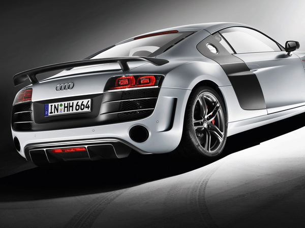 L'Audi R8 se dévergonde. Voici la R8 GT: +35 ch, - 100 kg!