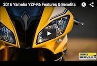 La Yamaha YZF-R6 2016 en vidéo