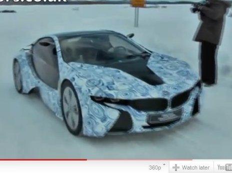 [vidéo] la future BMW i8 en test Grand Froid