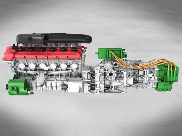 Pékin 2012 : le système HY-KERS de la Ferrari Enzo II