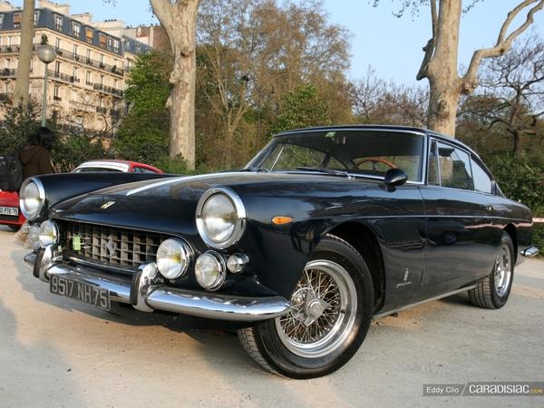 Photos du jour : Ferrari 250 GTE (Rallye de Paris Classic)