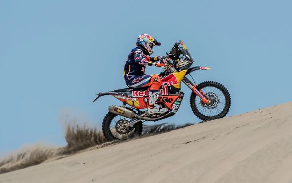 Le motard Sam Sunderland évacué vers Lima — Dakar