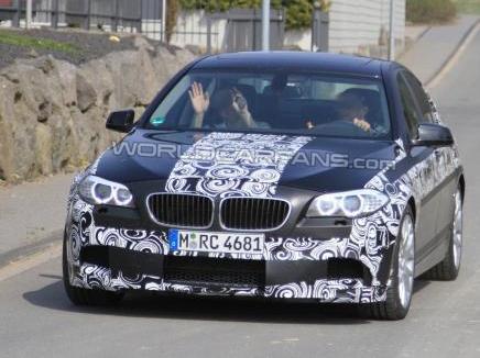 [Vidéo] La prochaine BMW M5 F10 sur le Nürburgring