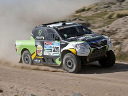 Dakar 2015 - Etape 8 : Toyota en décroche enfin une avec Alrajhi