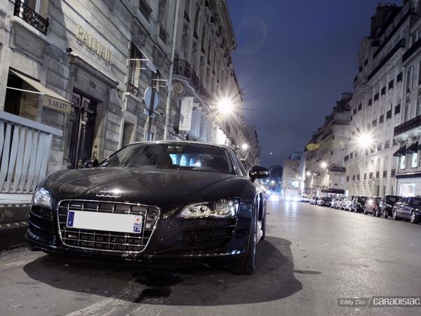 Photo du jour : Audi R8 V10 Spyder