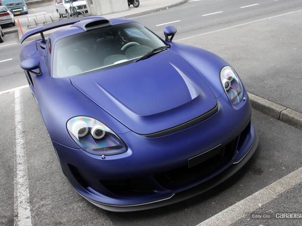 Gemballa Mirage GT Matt Edition Blue
