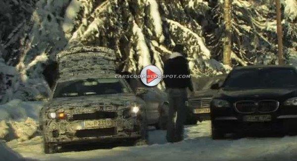 [Vidéo] La future Audi A7 s'étalonne face à la BMW Serie 7 en Norvège