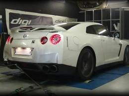 Nissan GT-R + E85 : bourrasque verte