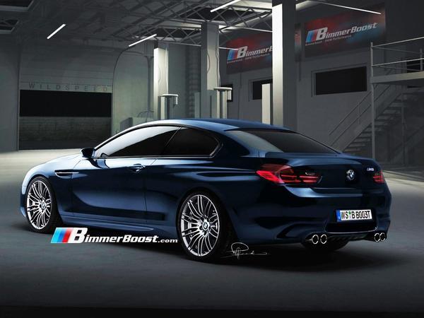 Future BMW M6 : comme ça, avec des si