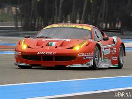 Essais LMS au Paul Ricard : Pescarolo, Ferrari 458 Italia, Rebellion, Jean-Marie Farina les a toutes eues !