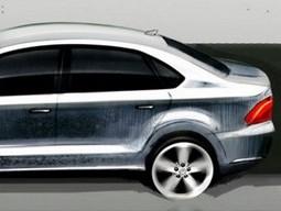 Nouveaux croquis pour la Volkswagen Vento