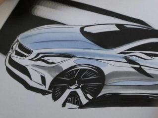 Nouvelle Mercedes Classe A: 1ères esquisses