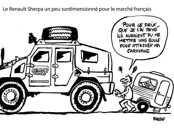 Le dessin du jour – Mesquineries de Renault Trucks selon Placide
