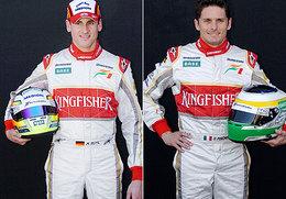 F1 Force India : Fisico et Sutil confirmés pour 2009
