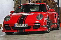 Porsche 997 turbo DKR : décevante