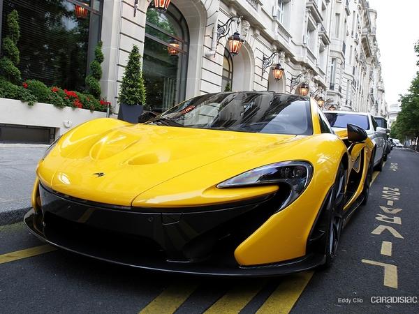 Photos du jour : McLaren P1