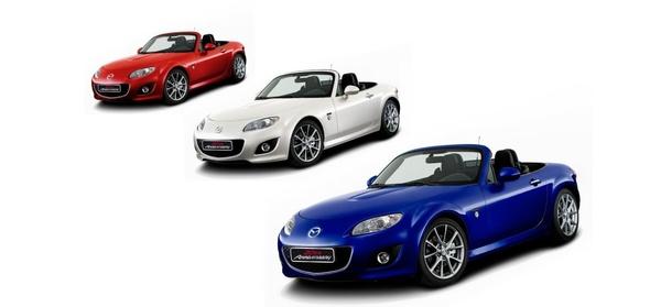 Salon de Genève: Une Mazda MX-5 20ème anniversaire