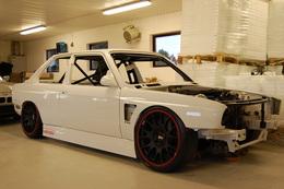 M3 E30 V8 biturbo : la préparation de l'année?