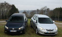 Opel Astra/Volkswagen Golf : cousines germaines