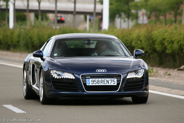 Photos du jour : Audi R8