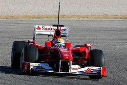 Essais F1 Valence 2010 Jour 1 : Massa toujours en tête, Schumacher dans le rythme