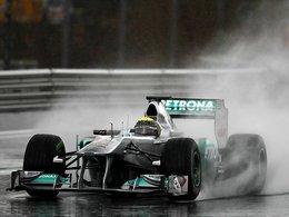 Essais F1 Barcelone Jour 5 . la pluie et Rosberg pour finir